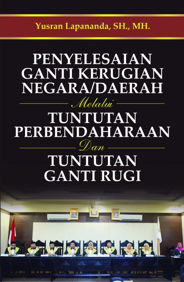 cover Buku Penyelesaian ganti kerugian depan