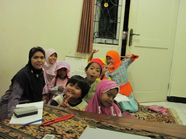 Anak-anak baca doa dulu ya sebelum ngaji