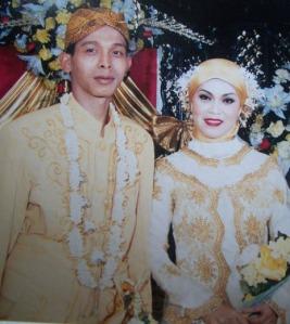 pernikahan kami  15 Januari 2006