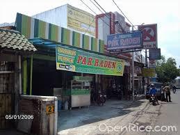 Empek-empek Pak Raden Pasar Minggu