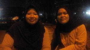 Bersama Eka, temen di SMPN 30 Sardonoharjo Jogja
