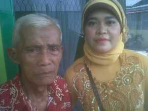Ayahku masih sehat, ketika pernikahan Novi