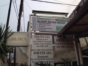 Plang Klinik Mitra Sehat