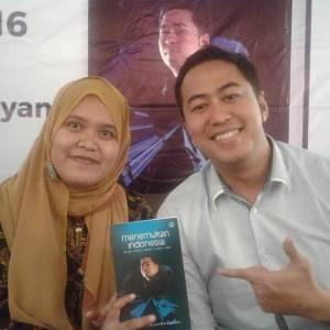 Bersama Pandji di Launching Buku Plaza Senayan