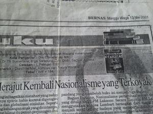 Edisi Cetak di Harian Bernas