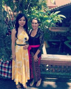 Janet Deneefe dan Anastasia Lin