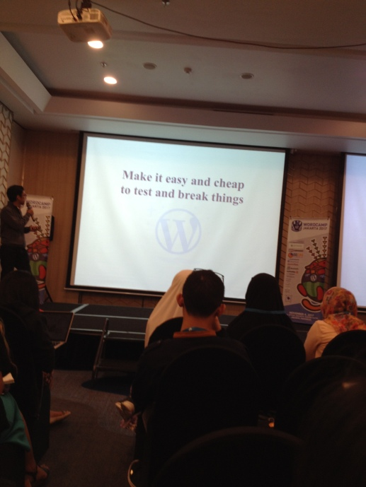 Hafiz dari WordPress Indonesia
