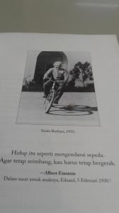 Einstein Bersepeda